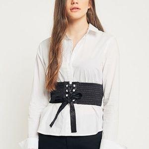 Urban Outfitters Olivia Satin Corset Belt